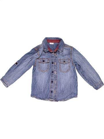 Long sleeve shirt unisex LADYBIRD blue 4 years winter #1009_1