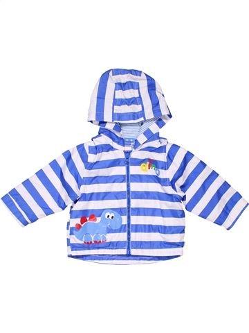Trench coat unisex BLUEZOO blue 12 months winter #1052_1