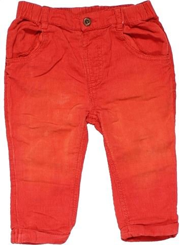 Trouser girl TU red 9 months summer #10757_1