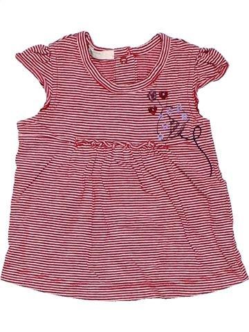 Long sleeve T-shirt girl BENETTON pink 3 months summer #10914_1