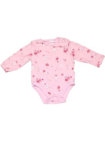 Long jumpsuit girl BLUEZOO pink 6 months winter #11032_1