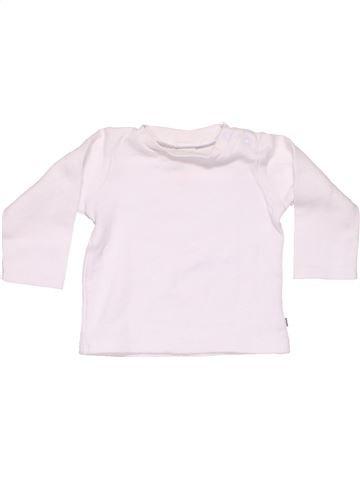 Long sleeve T-shirt unisex JACKY BABY white 6 months summer #11105_1