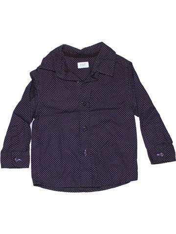 Long sleeve shirt girl F&F blue 18 months winter #11314_1