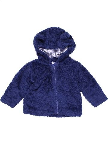 Sweatshirt unisex BLUEZOO blue 12 months winter #11331_1