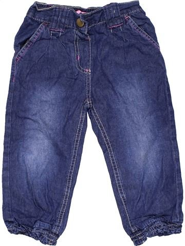 Jeans girl YOUNG DIMENSION blue 2 years summer #11789_1