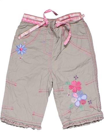 Trouser girl M&CO gray 6 months summer #11826_1