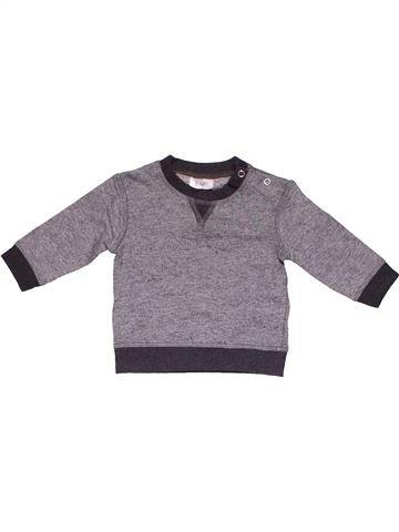 Long sleeve T-shirt boy F&F gray 6 months winter #11908_1