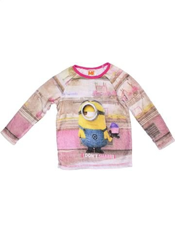 Jumper unisex DESPICABLE ME purple 4 years winter #11999_1