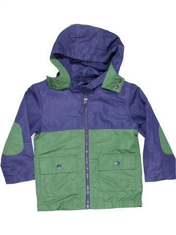 Snowsuit boy NUTMEG blue 4 years winter #12364_1