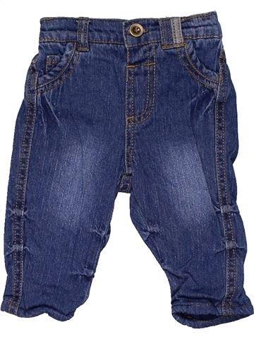 Jeans unisex GEORGE blue 3 months winter #1244_1