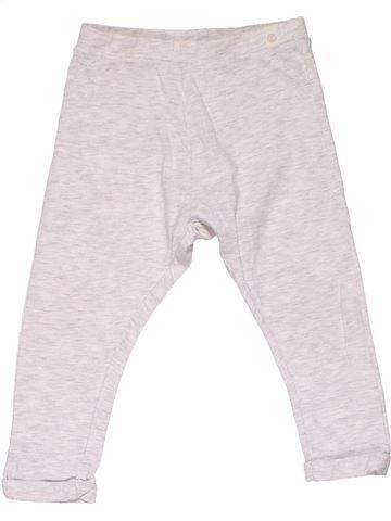 Trouser girl ZARA white 18 months summer #12483_1