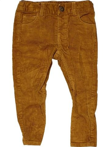 Trouser boy MINI CLUB brown 2 years winter #12594_1