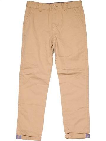 Trouser boy DENIM CO beige 9 years winter #14164_1