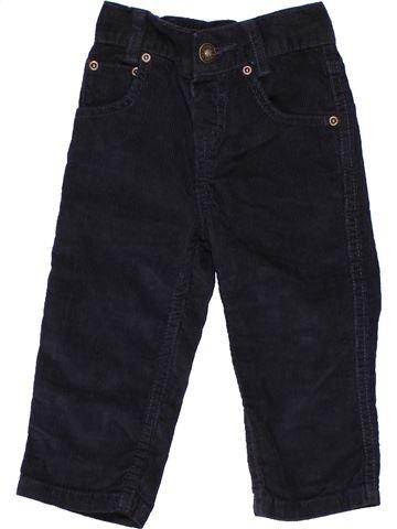 Trouser boy BLUEZOO black 18 months winter #1435_1