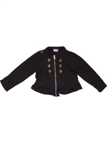 Jacket girl F&F black 18 months winter #14510_1