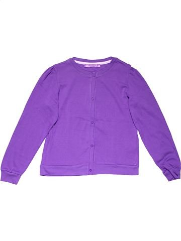 Jumper girl TERRANOVA purple 11 years winter #14587_1