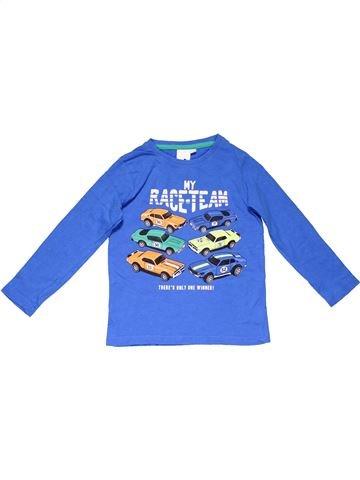 Long sleeve blouse boy PALOMINO blue 4 years winter #14703_1