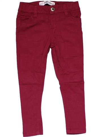 Jeans girl PRIMARK purple 3 years winter #14842_1