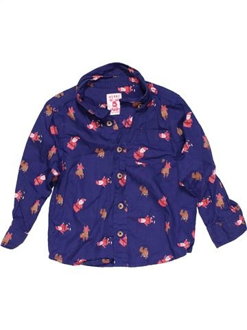 Long sleeve blouse unisex F&F purple 18 months winter #14981_1