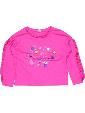 Sweatshirt girl TU pink 7 years winter #15078_1