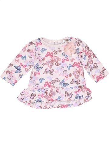 Dress girl BABY pink 6 months winter #15115_1