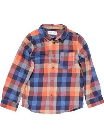 Long sleeve blouse boy ZARA pink 5 years winter #15170_1