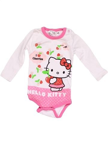 Long jumpsuit girl HELLO KITTY white 6 months winter #15202_1
