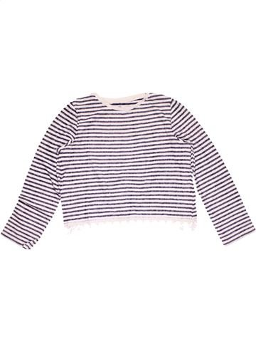 Long sleeve T-shirt girl M&S black 12 years winter #15388_1