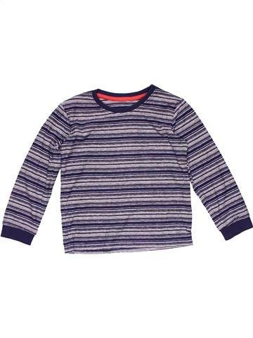 Long sleeve T-shirt unisex MATALAN purple 4 years winter #15710_1