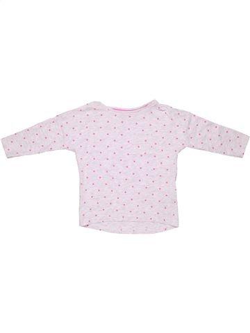 Long sleeve T-shirt girl H&M white 4 years winter #1591_1