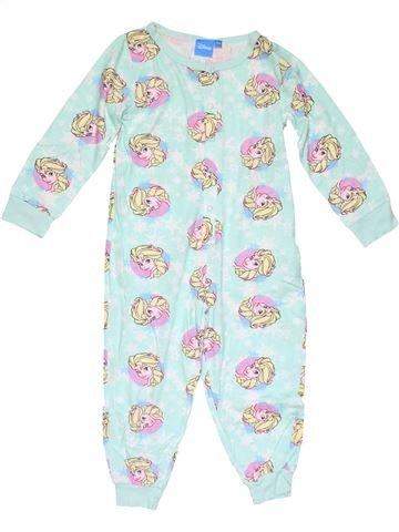 1 piece Pyjama girl PRIMARK blue 4 years winter #16165_1