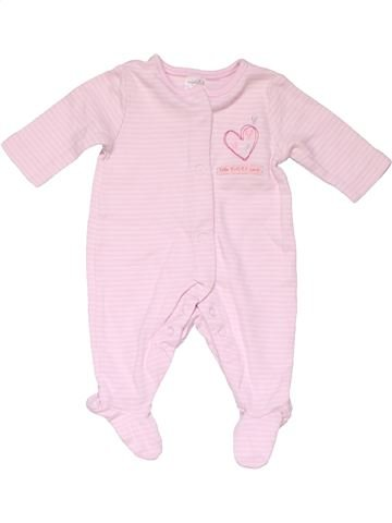 Long jumpsuit girl MINI CLUB pink new born winter #16286_1