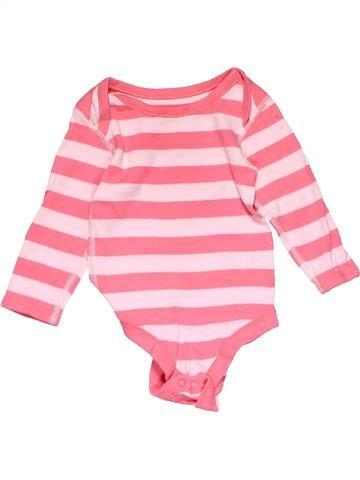 Long jumpsuit girl M&S pink 9 months winter #16946_1
