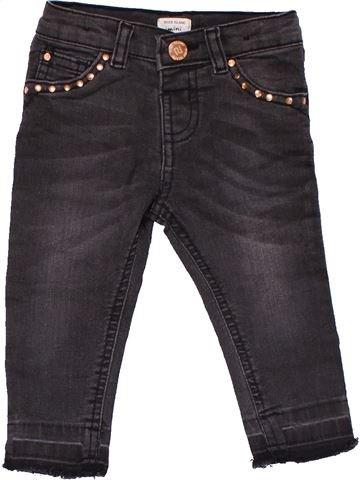 Jeans girl RIVER ISLAND black 12 months winter #17290_1