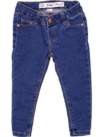 Jeans girl DENIM CO blue 2 years winter #1797_1