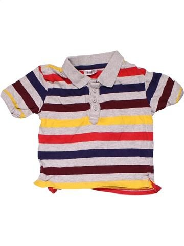 Short sleeve polo shirt boy F&F blue 9 months summer #18746_1