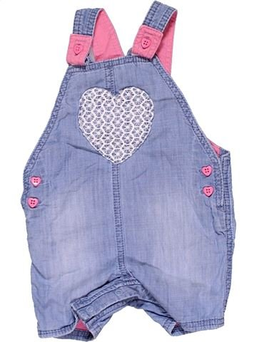 Dungaree girl F&F BABY blue 6 months summer #19043_1