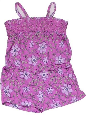 Dungaree girl BABY GAP purple 12 months summer #19277_1