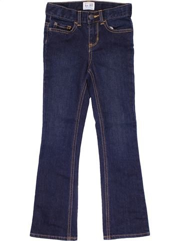 Jeans girl EST 89 blue 7 years winter #19500_1