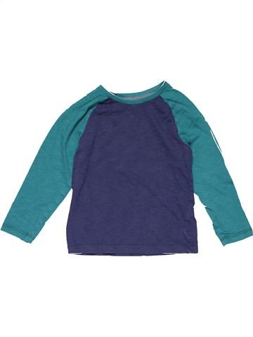 Long sleeve T-shirt boy MOTHERCARE blue 5 years winter #19521_1