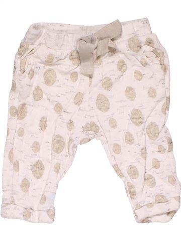 Trouser girl ZARA white 6 months summer #19705_1