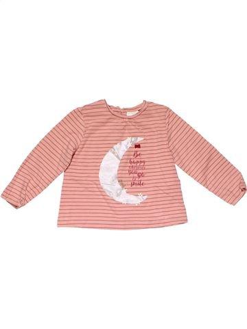 Long sleeve T-shirt girl ZARA pink 2 years winter #20388_1