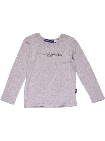 Long sleeve T-shirt girl ORIGINAL MARINES white 4 years winter #20483_1