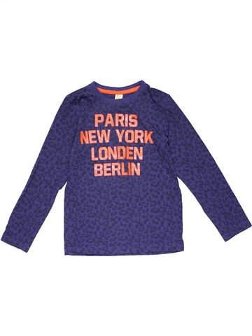 Long sleeve T-shirt unisex FRENDZ purple 8 years winter #20780_1