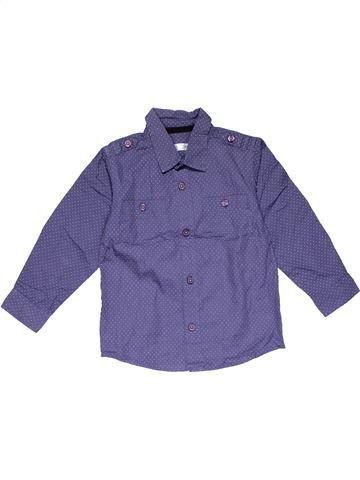 Long sleeve shirt boy M&CO blue 3 years summer #20841_1