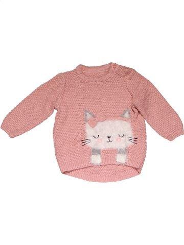 Jumper girl MATALAN pink 6 months winter #21049_1