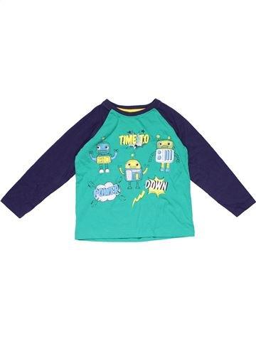Long sleeve T-shirt boy MATALAN green 2 years winter #21348_1