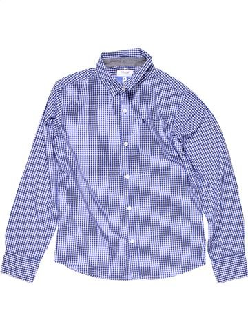 Long sleeve shirt boy PRIMARK blue 13 years winter #21716_1