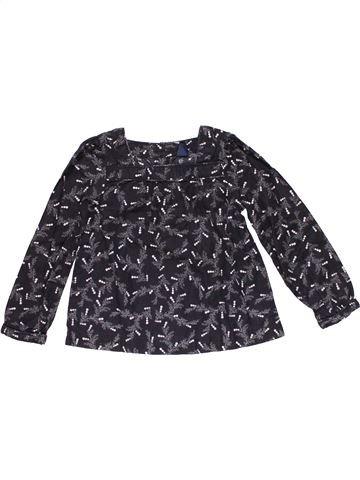 Long sleeve blouse girl BABY GAP black 3 years winter #21759_1