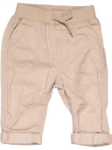 Dungaree boy GEORGE beige 3 months summer #22183_1